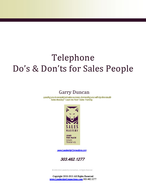 prospecting telephone skills and tips
